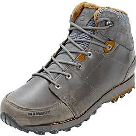 Mammut Chamuera Mid WP Shoes Herr dark graphite-timber